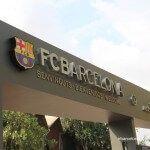 accés instal·lacions FC Barcelona