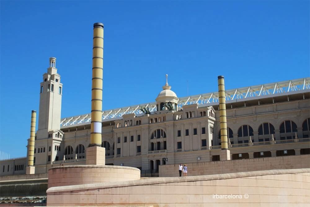 pati exterior Estadi Olímpic Barcelona
