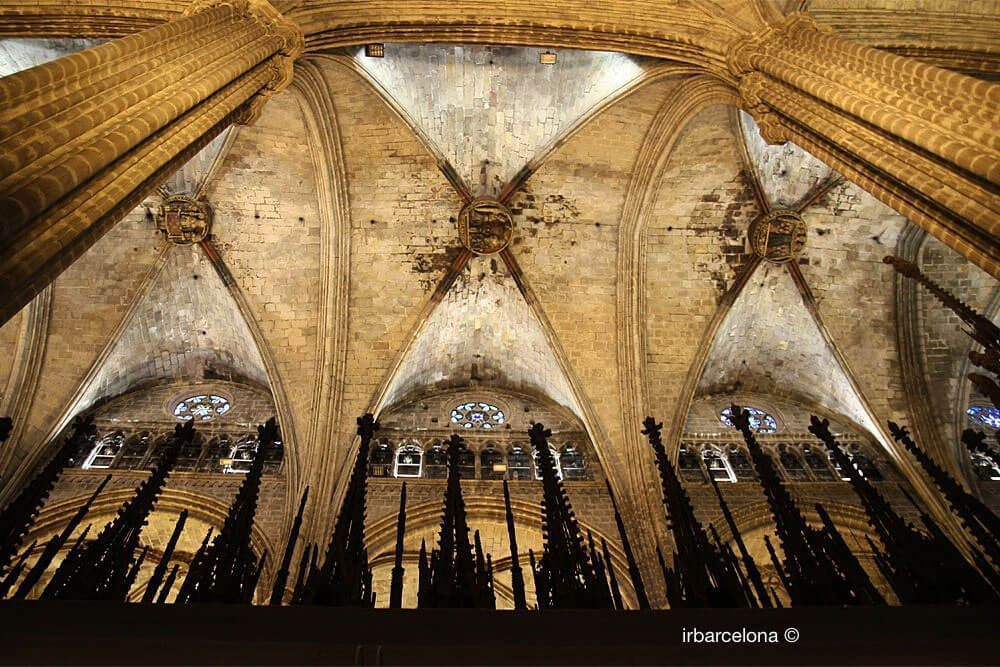 sostre Catedral de Barcelona