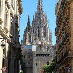 vistes campanar Catedral Barcelona