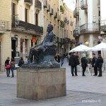 escultura d'Àngel Guimerà
