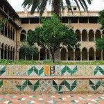 adorns ceràmica claustre Monestir de Pedralbes