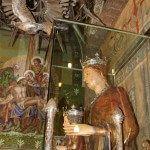talla gòtica de la Verge de la Mercè