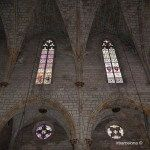 vitralls església Monesteri de Pedralbes