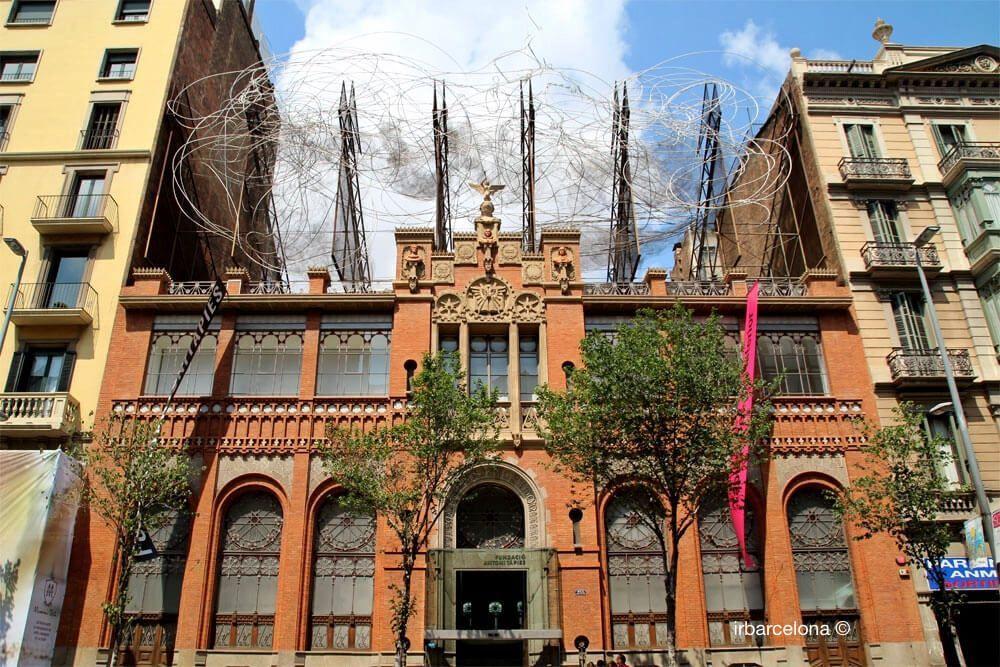 façana Fundació Antoni Tàpies
