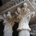 capitell columna claustre Sant Pau del Camp