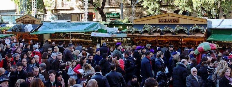 mercat de nadal Barcelona