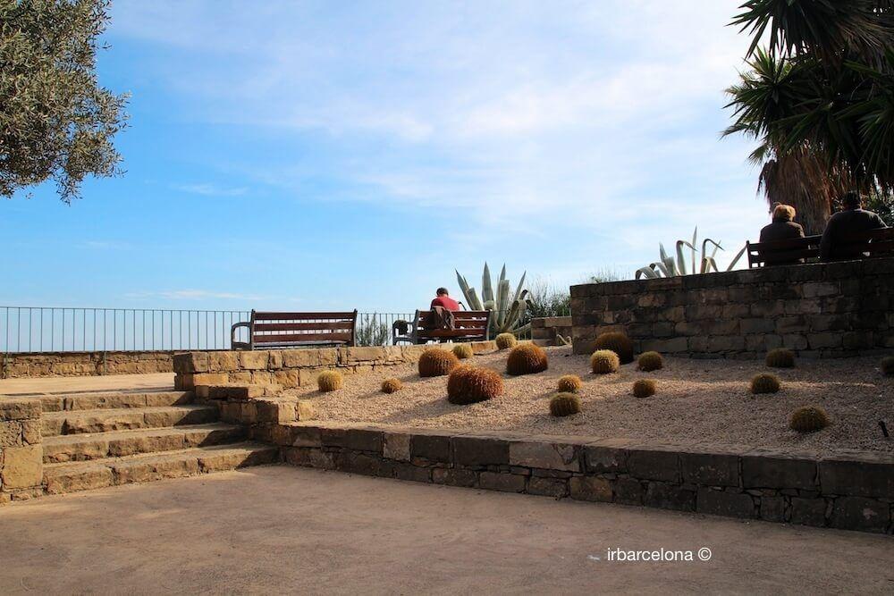 mirador litoral de Barcelona