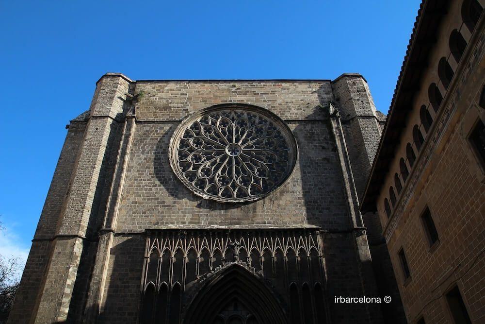 façana Santa Maria del Pi