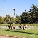 families als Jardins Mossèn Cinto Verdaguer