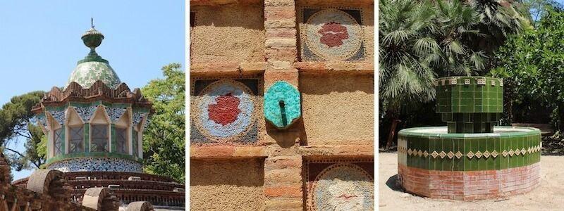 Pavellons Finca Güell Jardí Gaudí