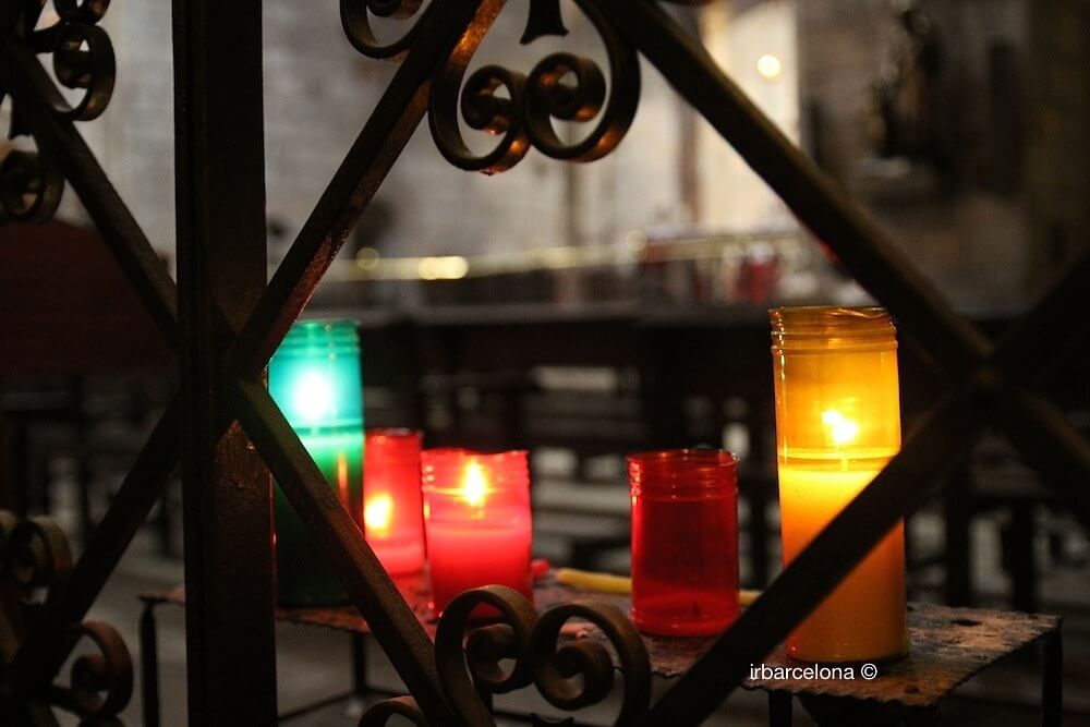 espelmes església Santa Anna