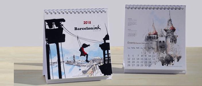 Sorteig del Nou Calendari de Barcelonink 2015