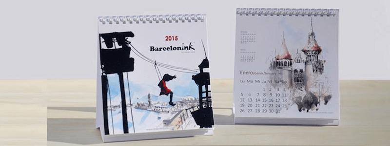 calendari Barcelonink 2015