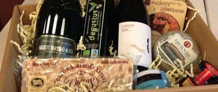 Sorteig d'un lot de Nadal de productes gourmet catalans