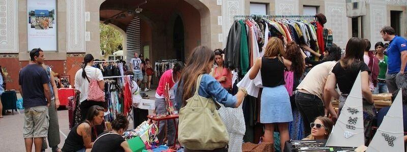 mercadillos El Raval