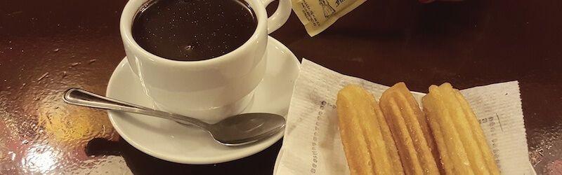 xurros amb xocolata