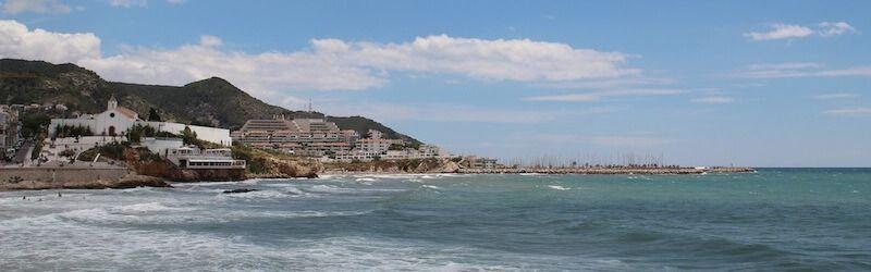 Sitges des del mar