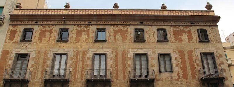 façana Casa de la Seda