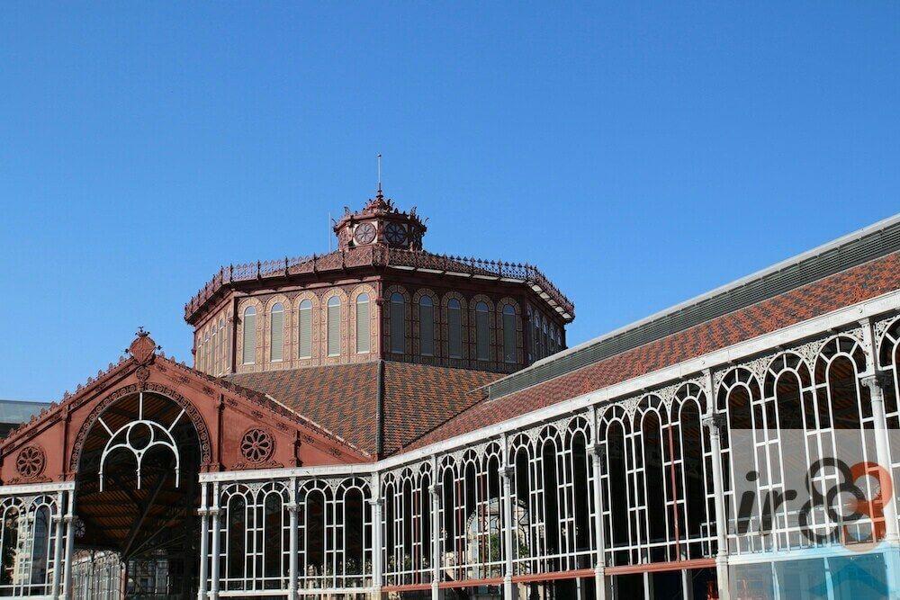 estructura ferro mercat San Antoni