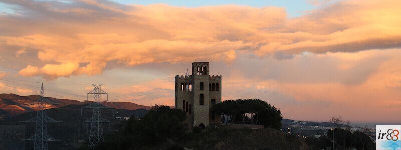 posta de sol Torre del Baró
