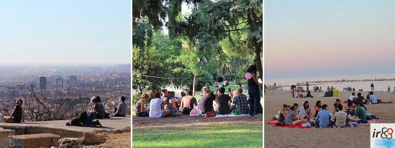 Pícnic a Barcelona