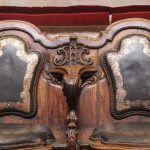 detalls seients Amfiteatre Anatòmic de Barcelona
