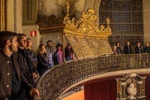 Visita Reial Acadèmia Medicina Catalunya