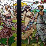 vitrall Les Tres Gràcies de Rubens