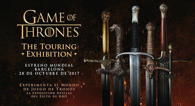 entrades exposició Juego Tronos Barcelona