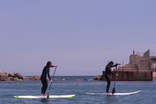 Paddel Surf i Caiac