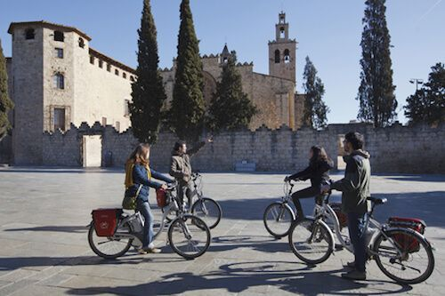 Monestir Sant Cugat & E-Bike Tour