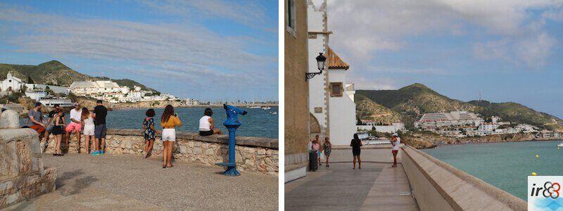 miradors Passeig Marítim Sitges