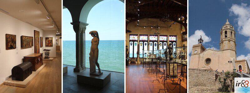 Museus, monuments i esglésies Sitges