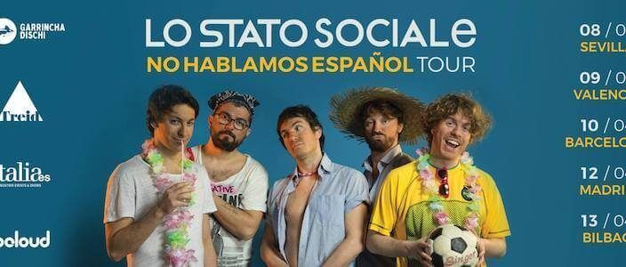 Lo Stato Sociale en concert a la Sala Bikini de Barcelona