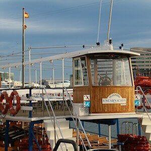 vuelta en barca Barcelona