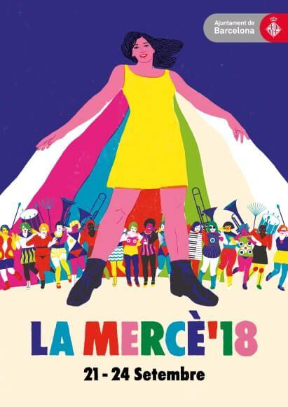 cartell La Mercè 2018