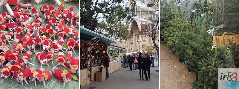Fira de Nadal de la Sagrada Família de Barcelona