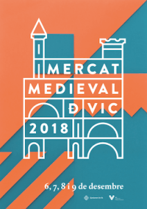 cartell Mercat Medieval Vic