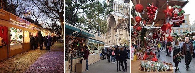 Mercats de Nadal a Barcelona