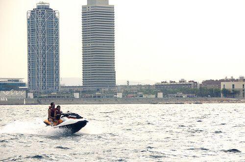 tour moto aigua Barcelona