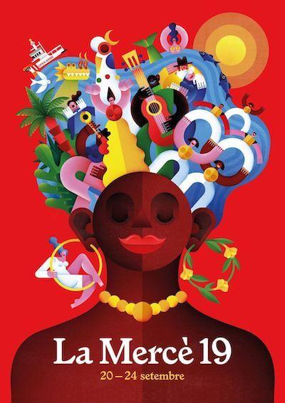 cartell La Mercè 2019