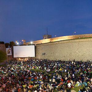 cine nocturno al aire libre en Barcelona