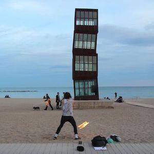 paseo litoral Barcelona