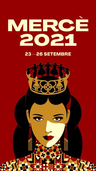 cartell La Mercè 2021