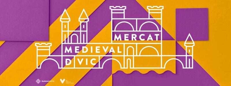 Mercat i Fira Medieval de Vic 2021